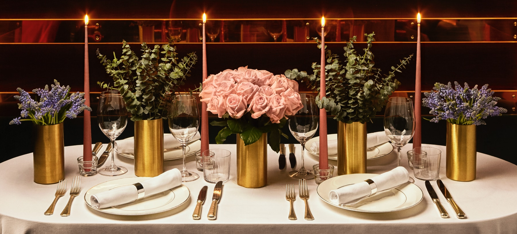 MOODY HUES TABLESCAPE