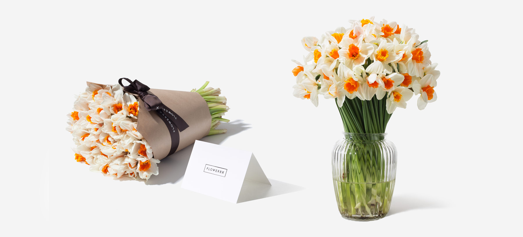 Daffodil Gift and Vase Set