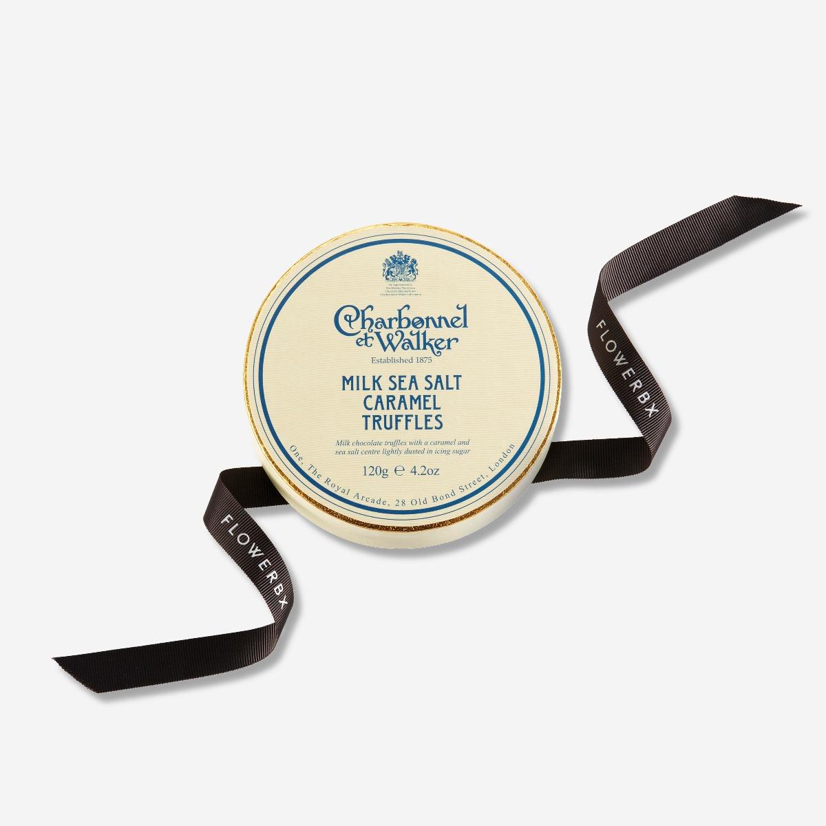 Charbonnel et Walker Milk Sea Salt Caramel Chocolate Truffle