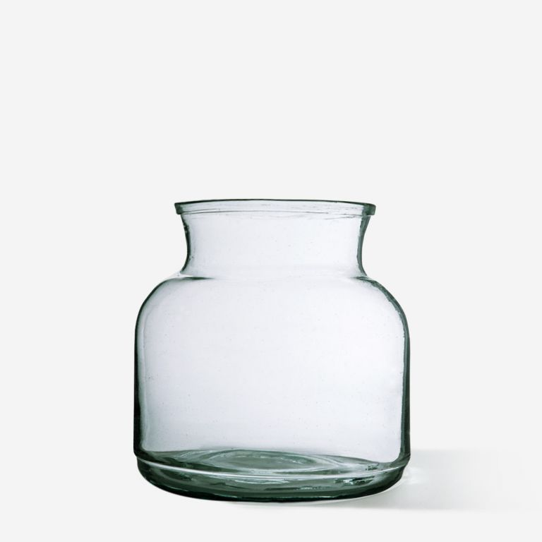 Wide Apothecary Vase