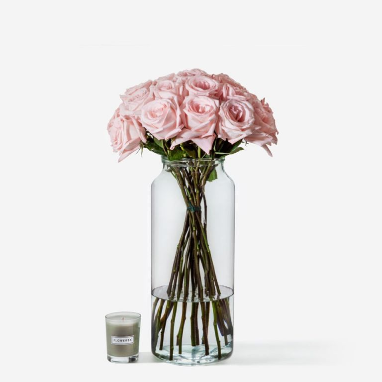 Tall Apothecary Vase