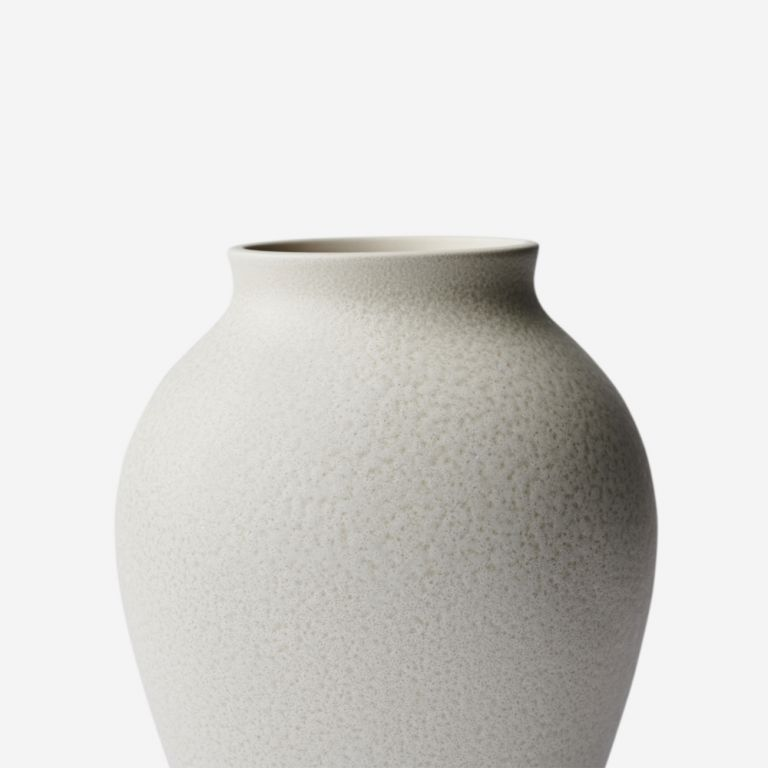 Vase Mayfair Blanc Moyen