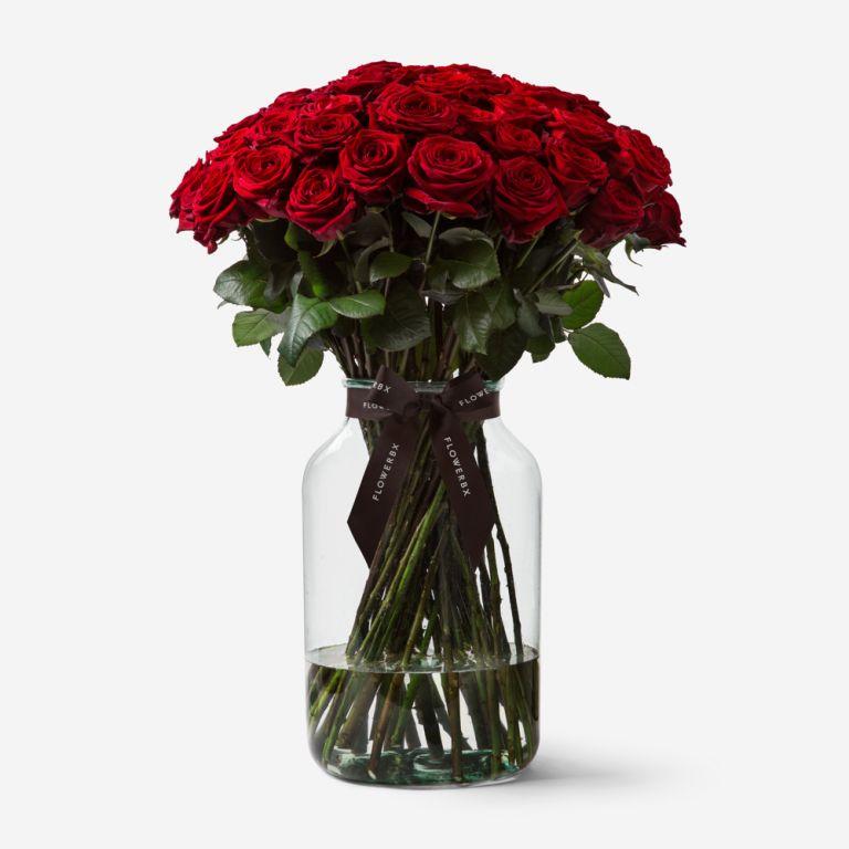 50 Roses Vase Set