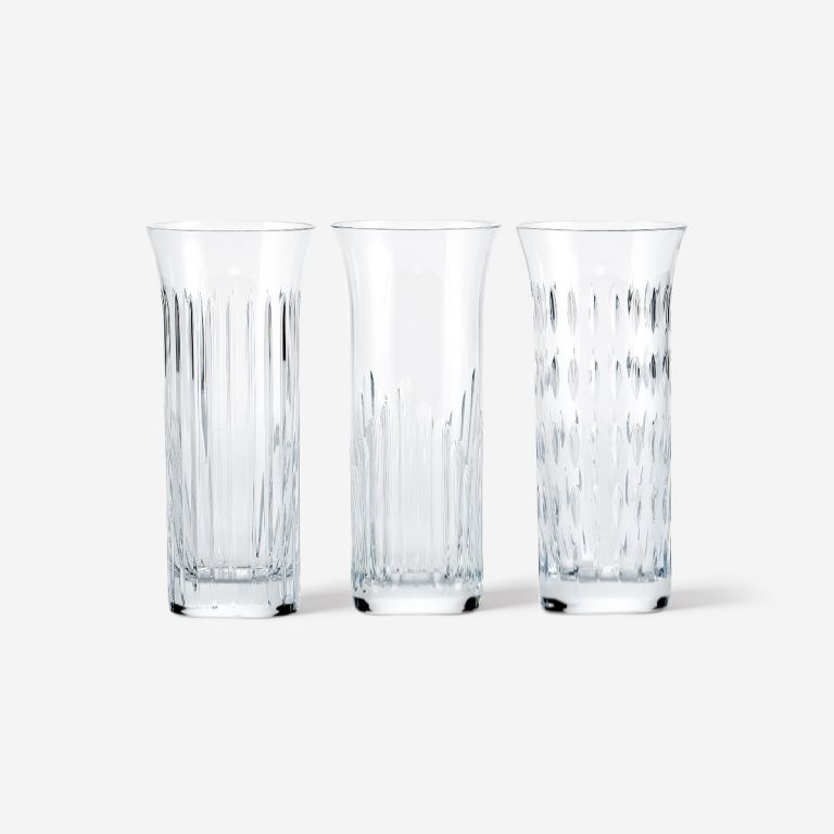 Baccarat Rose Vase Set