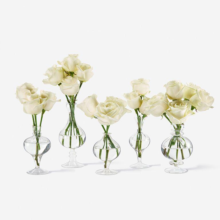 Bailey Bud Rose Vase Set