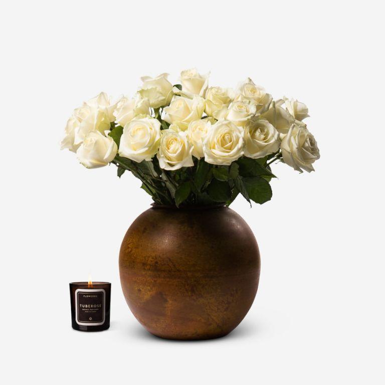 Vase Beaumont Amber