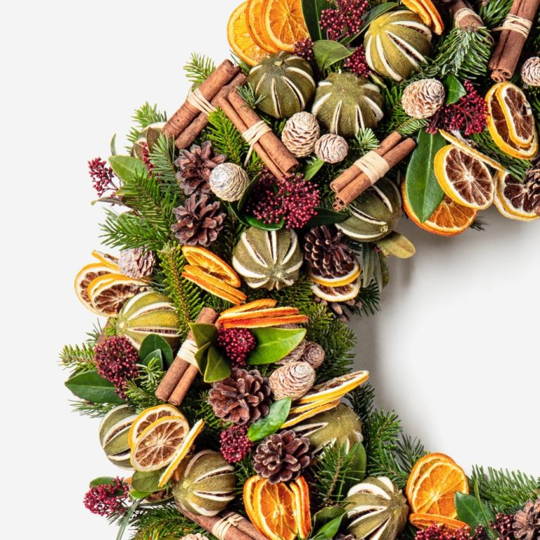 Dried Citrus Wreath