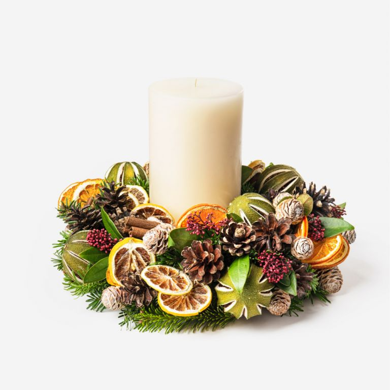 Dried Citrus Centrepiece