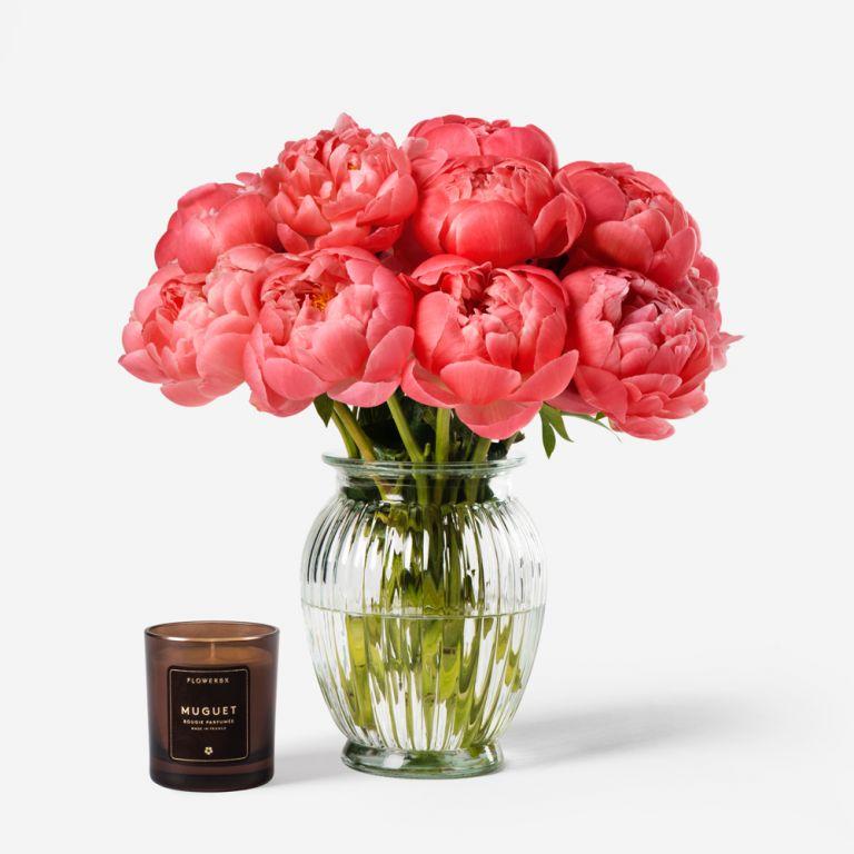 Royal Windsor Peony Vase Set