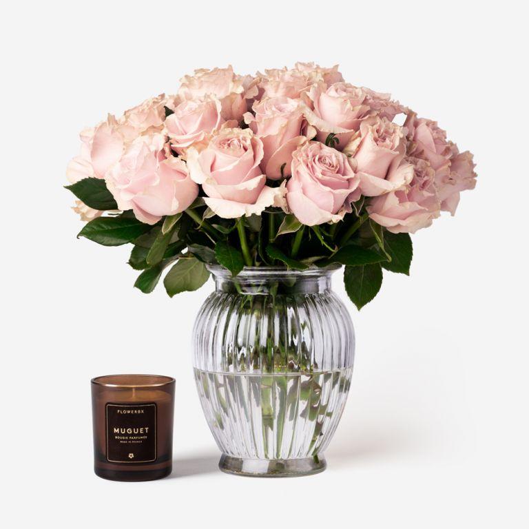 20 stems in a Royal Windsor vase
