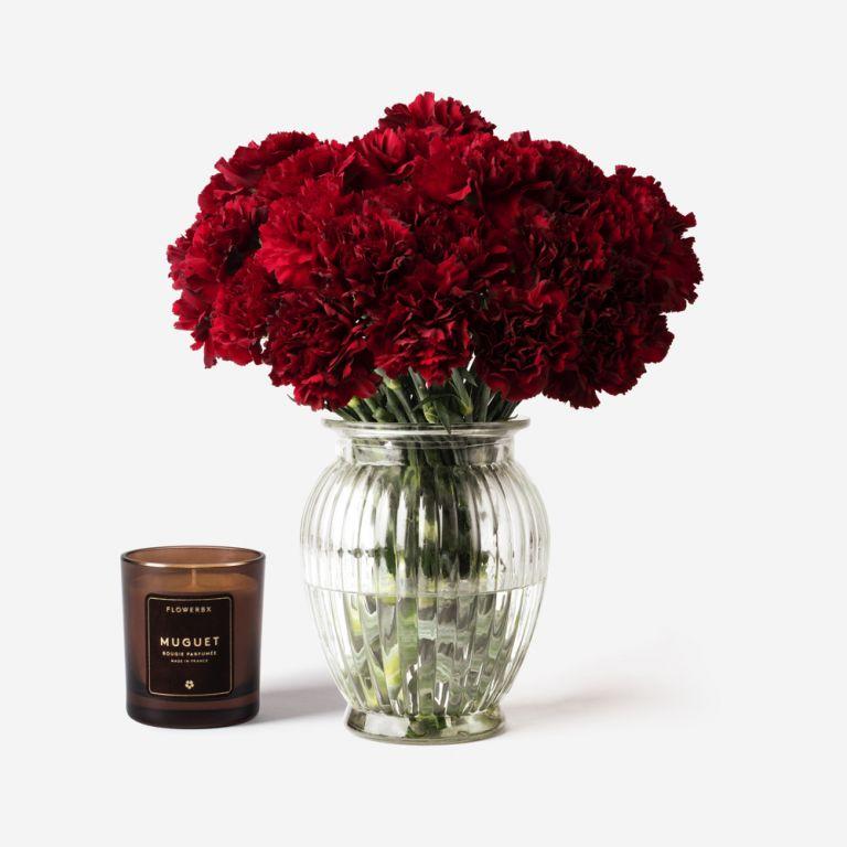 Royal Windsor Carnation Vase Set