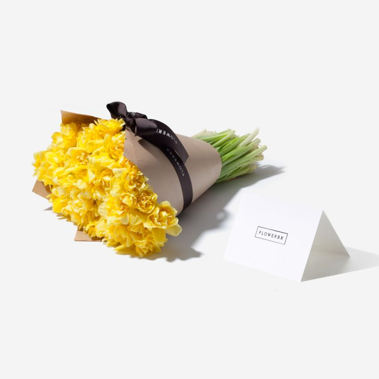 Sunshine Daffodil Gift and Vase Set