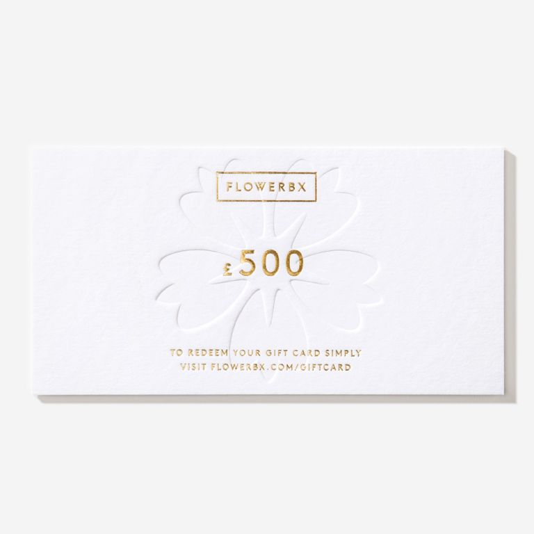 Carte cadeau FLOWERBX 500 €