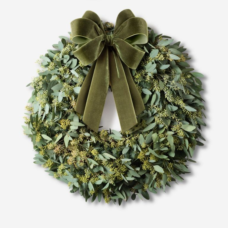 Large xmas wreath, large Christmas wreath