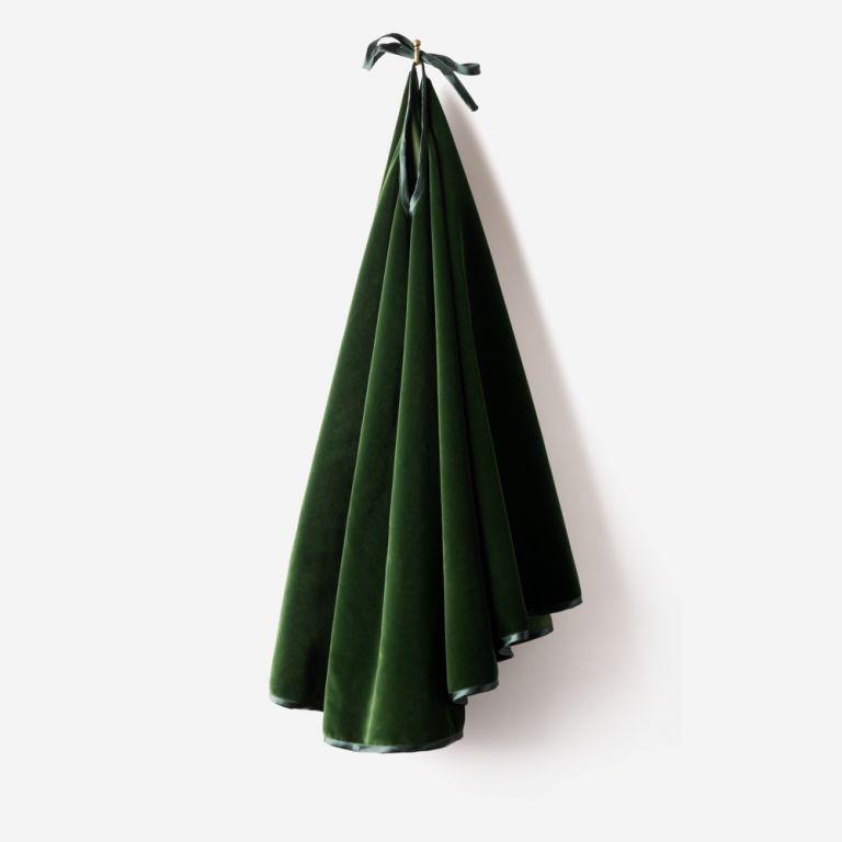 Handmade Velvet Tree Skirt