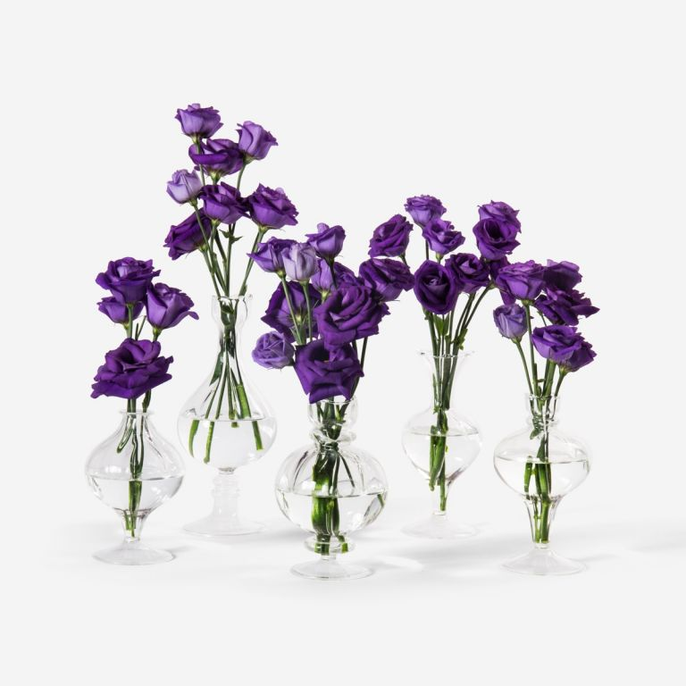 Lisianthus and Bailey Bud Set