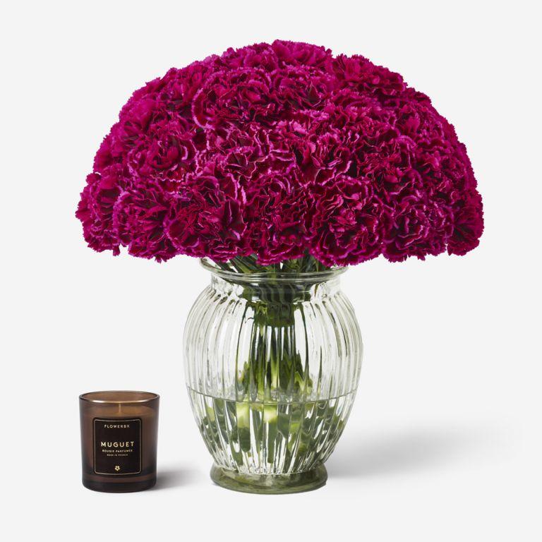 40 stems in a Royal Windsor Vase