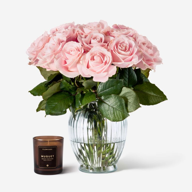 Royal Windsor Rose Vase Set