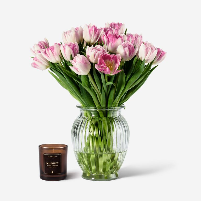 Set de Tulipe et Vase Royal Windsor