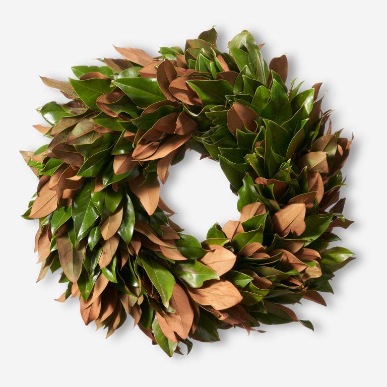 Magnolia Autumn Wreath Premium