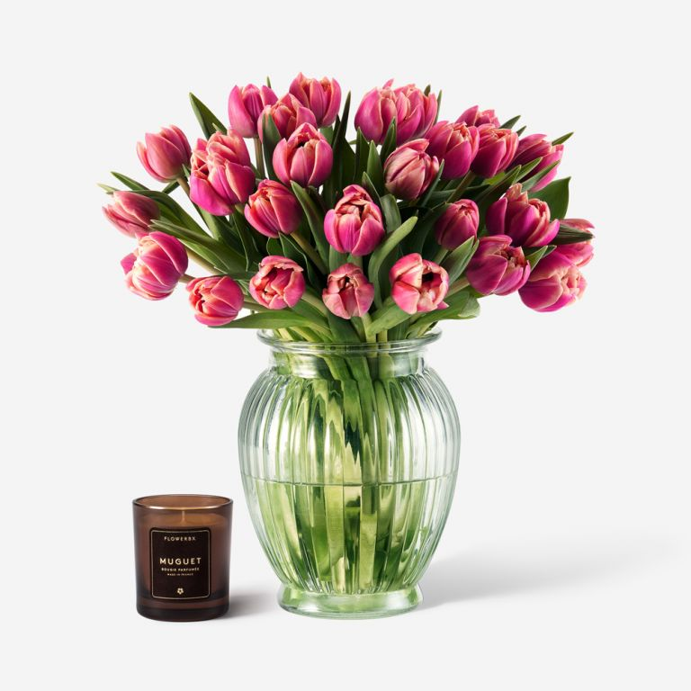 Tulip and Champagne Gift Set