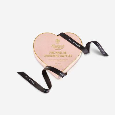 Charbonnel et Walker Pink Marc de Champagne Chocolate Truffle