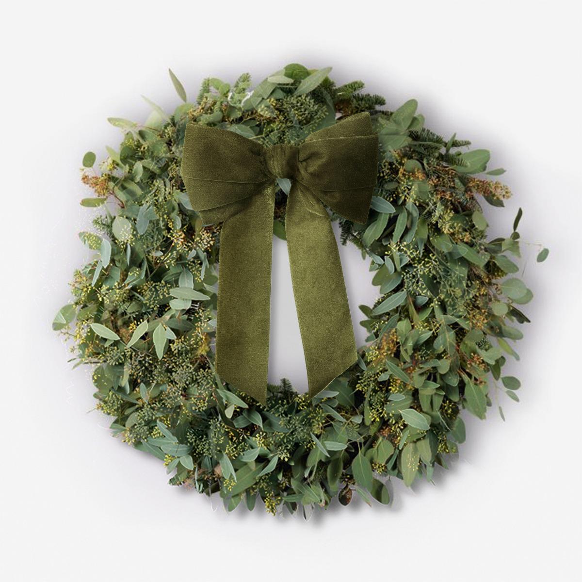 Berried Eucalyptus Wreath